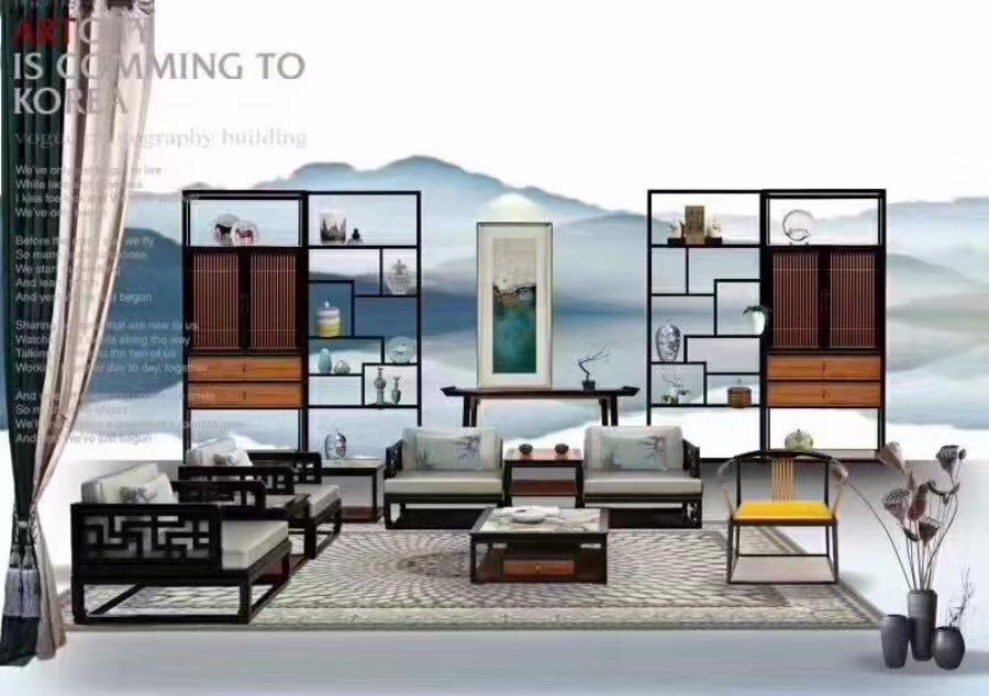 【江南别院】高端红木新中式家具第六空间国际家居馆即将呈现